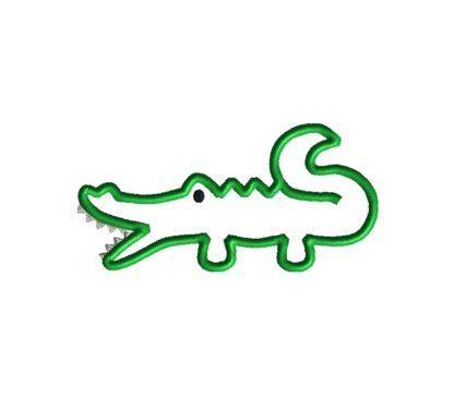 Alligator Applique Design