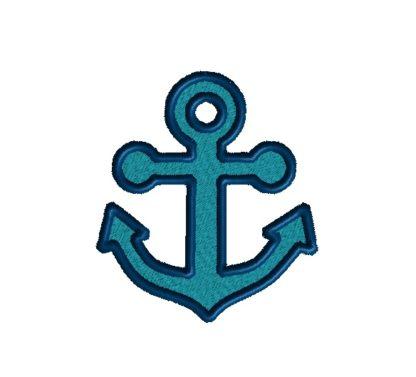 Anchor Applique Design