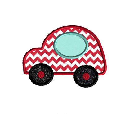 Auto Car Applique Design