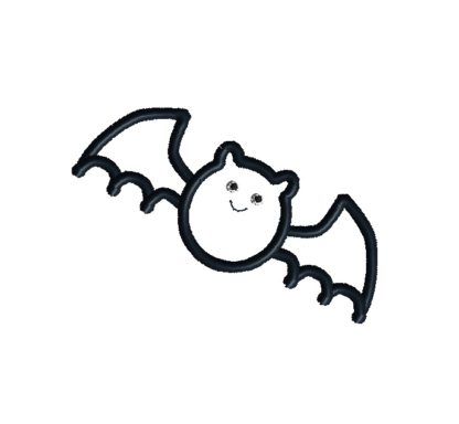 Bat Applique Design