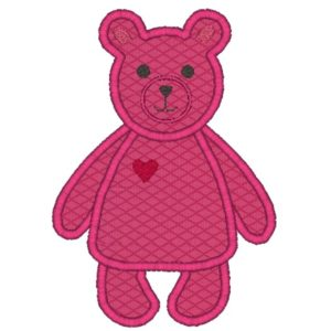 Bear Applique Design