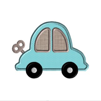 Wind-Up Car Applique