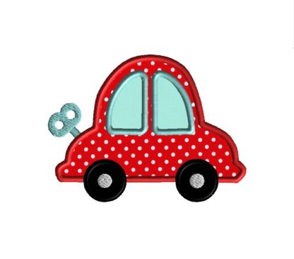Wind-Up Car Applique