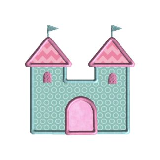 Castle Applique Design