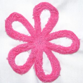 Chenille Daisy Embroidery Design