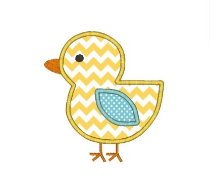 Baby Chick Applique Design