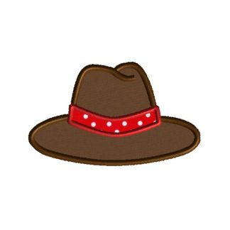 Cowboy Hat Applique Design