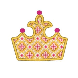 Crown Applique Design
