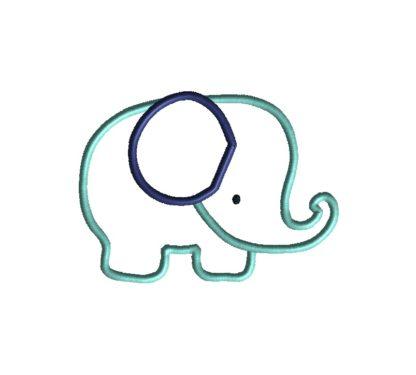 Elephant Applique-32