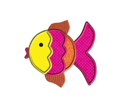 Fish Applique Design