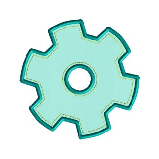 Gear Applique Design