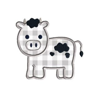 Cow Applique Design