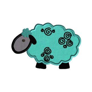Lamb Applique Design