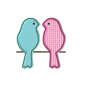 Love Bird Applique