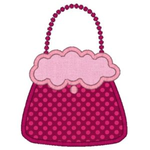 Ooo La La Purse Applique Design