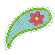 Paisley Applique Design