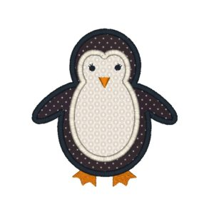 penguin applique