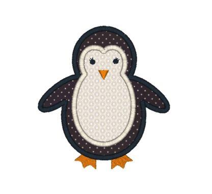 penguin applique