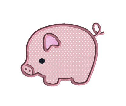 Piggy Applique Design