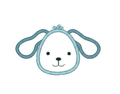 Puppy Applique Design