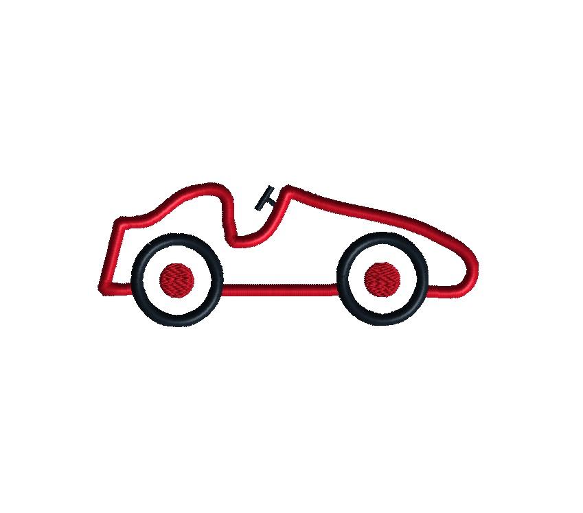 Car Applique Design