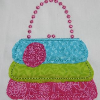 Raggy Purse Applique Design