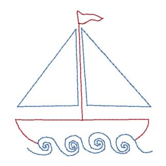 Sailboat Stitch Embroidery