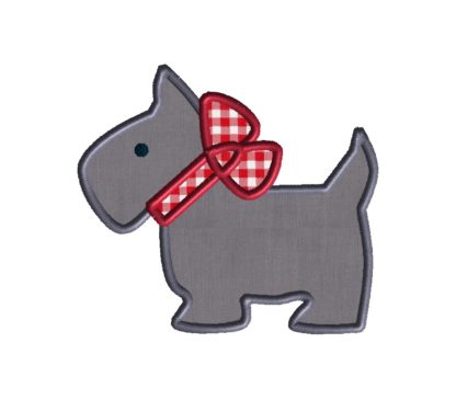 Scottie Applique