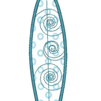 Surfboard Applique Design