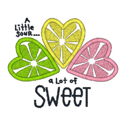 Sweet N Sour Embroidery Design