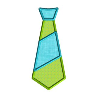 Tie Applique Design