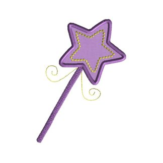 Wand Applique Design