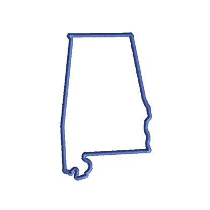 Alabama Applique Design