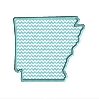 Arkansas Applique Design