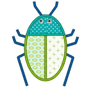 Beetle Applique Design