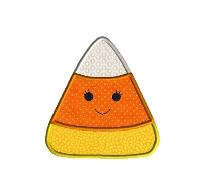 Candy Corn Applique Design