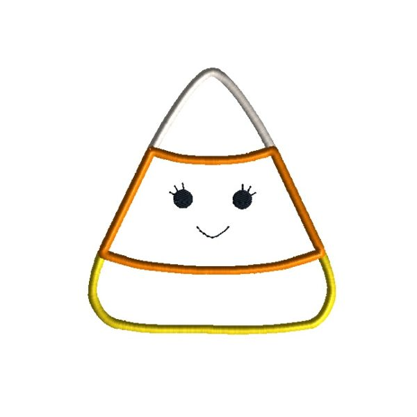 Candy Corn Applique Design