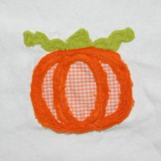 Pumpkin Embroidery Design-Chenille