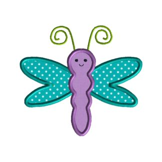 Dragonfly Applique Design