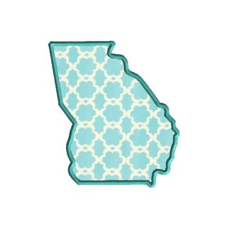 Georgia Applique Design