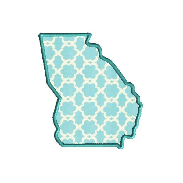 Georgia Applique Design