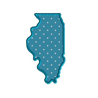 Illinois Applique Design