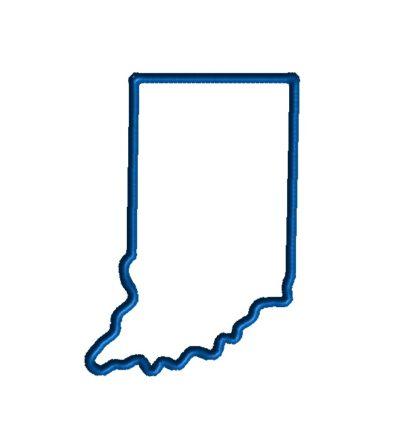 Indiana Applique Design