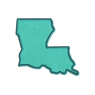 Louisiana Applique Design