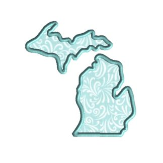 Michigan Applique Design