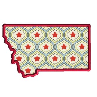 Montana Applique Design
