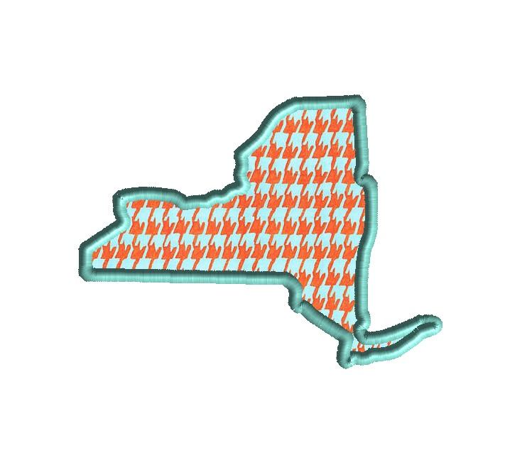 New York Applique Design