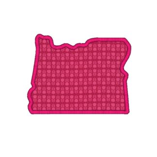 Oregon Applique Design