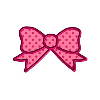 Bow Applique Design
