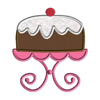 Cake Applique Design